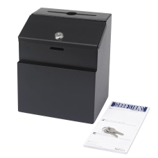 Safco Steel Suggestion Box 8 12