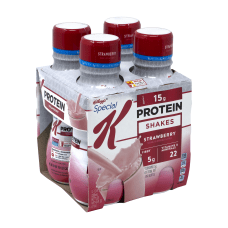 Special K Strawberry Protein Shakes 10