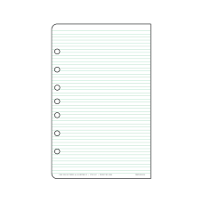 Day Timer Organizer Accessory Lined Pages