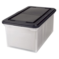 Office Depot Stackable File Tote Box