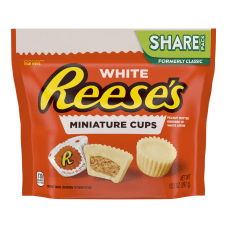 Reeses Miniature White Peanut Butter Cups