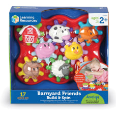 Learning Resources Build Spin Farm Friends