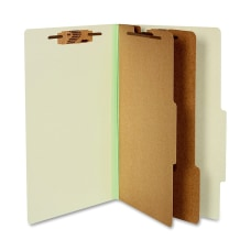 ACCO Durable Pressboard Classification Folders Legal