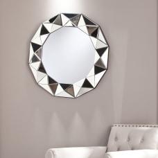 Southern Enterprises Tresen Round Decorative Mirror