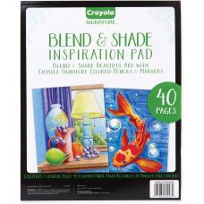 Crayola Blend Shade Inspiration Pad 40