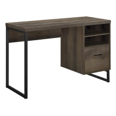 Ameriwood Home Candon Desk Medium Brown