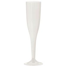 Amscan Plastic Champagne Flutes 55 Oz