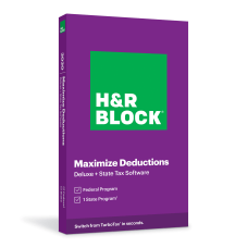 H R Block Deluxe State 2020