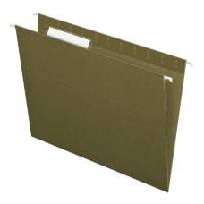 Pendaflex Standard Green Hanging Folders Letter
