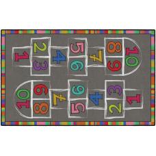 Flagship Carpets Hopscotch Area Rug 5H