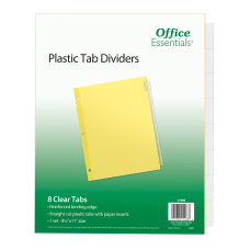 Avery Office Essentials Insertable Dividers 8