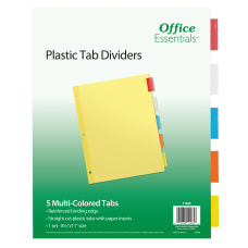 Avery Office Essentials Insertable Dividers 5