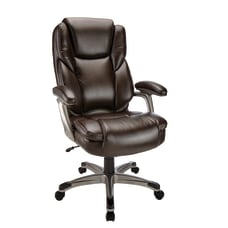 Realspace Cressfield Bonded Leather High Back