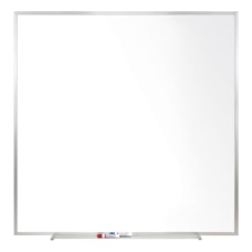 Ghent Magnetic Porcelain Whiteboard Steel 48