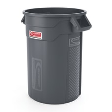 Suncast Commercial Oval HDPE Utility Trash