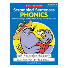 Scholastic Teacher Resources Activity Book Scrambled