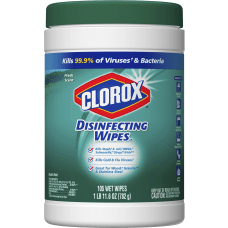 Clorox Scented Disinfecting Wipes Wipe Fresh