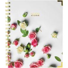 Rediform Romantic Roses WeeklyMonthly Planner Julian