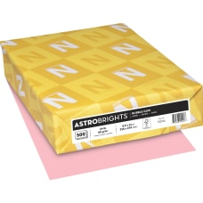 Astrobrights LaserInkjet Colored Paper Letter Size