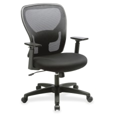 Lorell Mid Back MeshFabric Task Chair