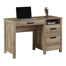 Realspace Plank 47 W Writing Desk