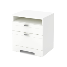 South Shore Reevo Nightstand With Cord