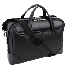 McKlein Harpswell Dual Compartment Briefcase with