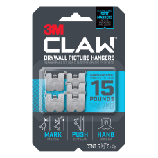 3M Claw Drywall Picture Hangers15 lb
