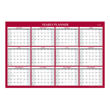 Blue Sky Jumbo Laminated Calendar 48