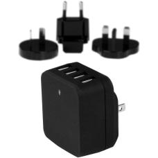 StarTechcom Travel USB Wall Charger 4