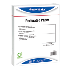 PrintWorks Professional Pre Perforated Paper for