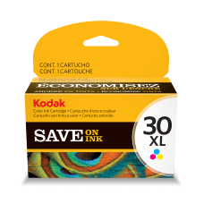 Kodak 30XL Color Ink Cartridge 1341080