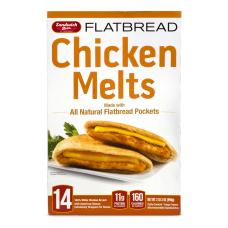 Sandwich Bros Flatbread Chicken Melts 3504