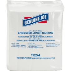 Genuine Joe White Lunch Napkins 1