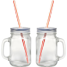 Starfrit Mason Jar Mugs 2 pk