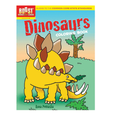 Dover Publications Boost Coloring Book Dinosaurs