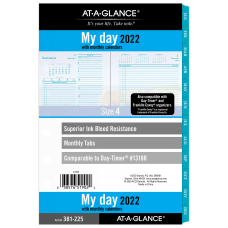 AT A GLANCE Seascapes DailyMonthly Planner