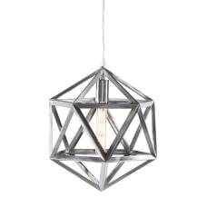 Southern Enterprises Lecava Geometric LED Pendant