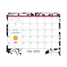 Blue Sky Academic Monthly Wall Calendar