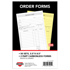 COSCO Order Form Book 2 Part