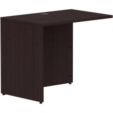 Lorell Espresso Laminate Desk 35 x