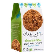 Mikaelas Simply Divine Biscotti Cookies Chocolate