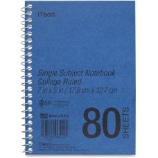 Mead Heavyweight Single Subject Notebook 80