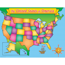 Scholastic Practice Chart USA Map 17