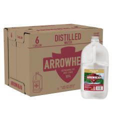 Arrowhead Distilled Water 128 Oz Case