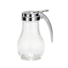 Tablecraft Glass Teardrop Syrup Dispenser 14