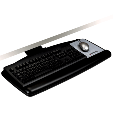 3M AKT90LE Adjustable Keyboard Tray BlackCharcoal