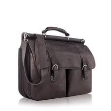 Solo 16 Leather Classic Portfolio Espresso