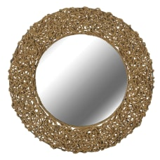 Kenroy Home Wall Mirror Seagrass 33