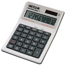 Victor TUFFCALC Desktop Calculator White